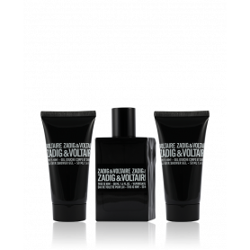 Zadig & Voltaire This is Him! Eau de Toilette 50 ml + SG 50 ml + SG 50 ml Set
