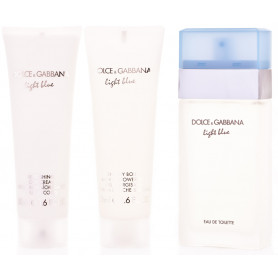 Dolce & Gabbana Light Blue Eau de Toilette 50ml + BL 50 ml + SG 50 ml Set