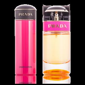 Prada Candy Eau de Parfum 50 ml + Body Lotion 75 ml Damenset