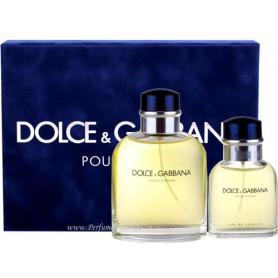 Dolce & Gabbana Pour Homme D&G Eau de Toilette 125 ml + 40 ml EdT Set