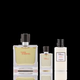 Hermes Terre d'Hermes Eau de Parfum 75ml + 12,5ml + ASB 40 ml Set