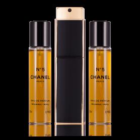 Chanel No. 5 Eau de Parfum Taschenspray (nachfüllbar) 3 x 20 ml
