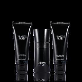 Giorgio Armani Code Pour Homme Eau de Toilette 50 ml+ DG 75 ml + ASB 75 ml