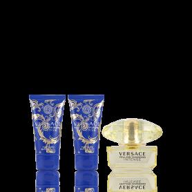 Versace Yellow Diamond Intense Eau de Toilette 50 ml + SG 50 ml + BL 50 ml Set