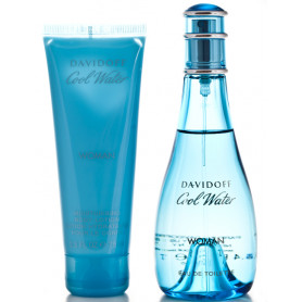Davidoff Cool Water Women EdT 100 ml+BL 75 ml Set