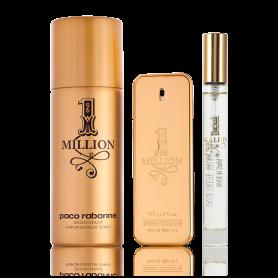 Paco Rabanne 1 Million Eau de Toilette 50 ml + 10 ml + Deodorant Spray 150 ml