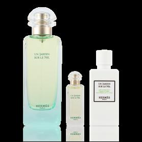 Hermes Un Jardin Sur Le Nil Damen EdT 100 ml + 7,5 ml + BL 80ml Set