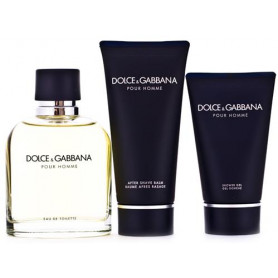 Dolce & Gabbana Pour Homme D&G (EdT 125 ml + AS 100 ml + SG 50 ml) Set