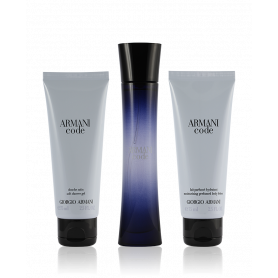 Giorgio Armani Code Pour Femme Eau de Parfum 50 ml + SG 75 ml + BL 75 ml Set