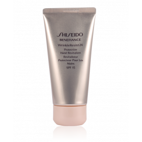 Shiseido Benefiance Wrinkle Resist 24 Protective Hand Revitalizer SPF 15 75 ml