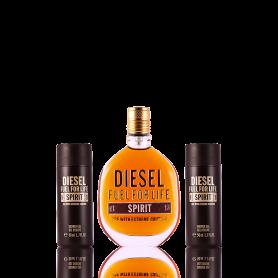 Diesel Fuel for Life Spirit Eau de Toilette 75 ml + SG 2 x 50 ml Set