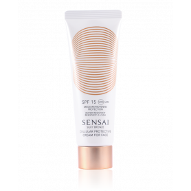 Sensai Silky Bronze Cellular Protective Cream for Face SPF 15 50 ml