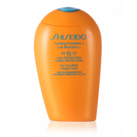 Shiseido Tanning Emulsion SPF 6 150 ml