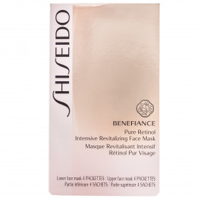 Shiseido Benefiance Pure Retinol Intensive Revitalizing Face Mask 4St.